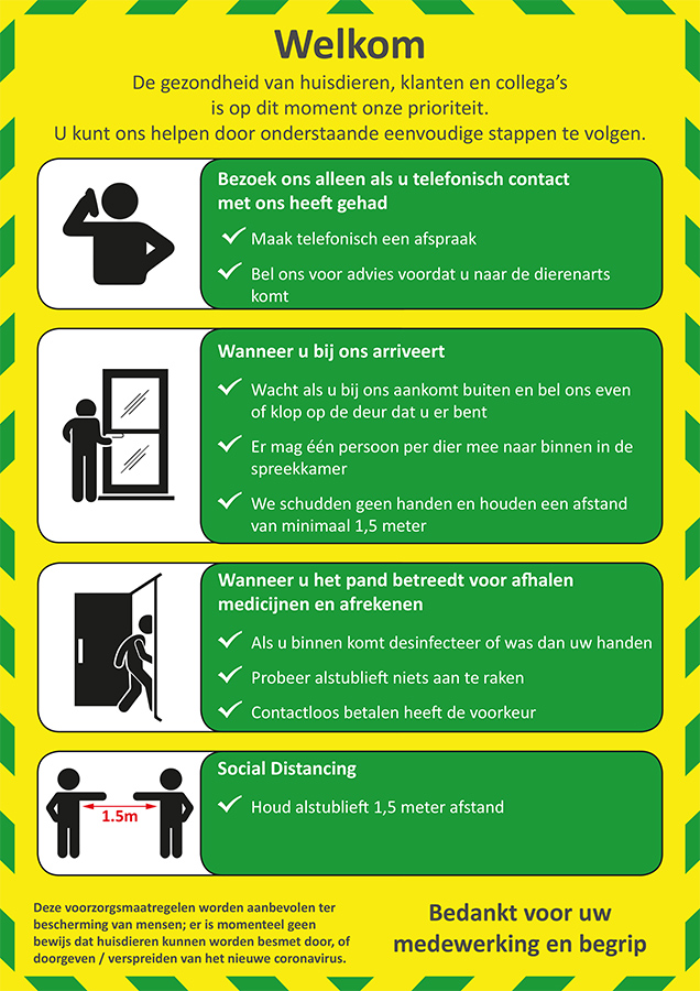 COVID-19 NL Entry Door Poster Instructions A4 14-05-2020_website